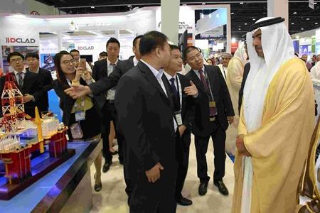 第十八届阿布扎比石油和天然气国际会议暨展会开幕
