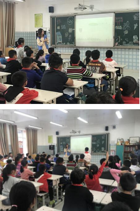 """郑州市惠济区开展""""垃圾分类进校园""""宣传活动"""