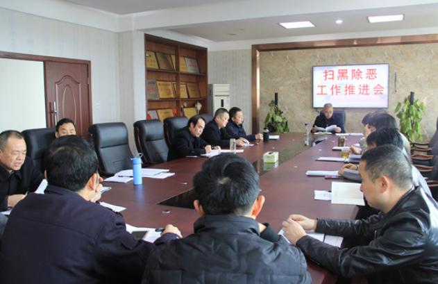湖南华容县人民法院召开扫黑除恶工作推进会